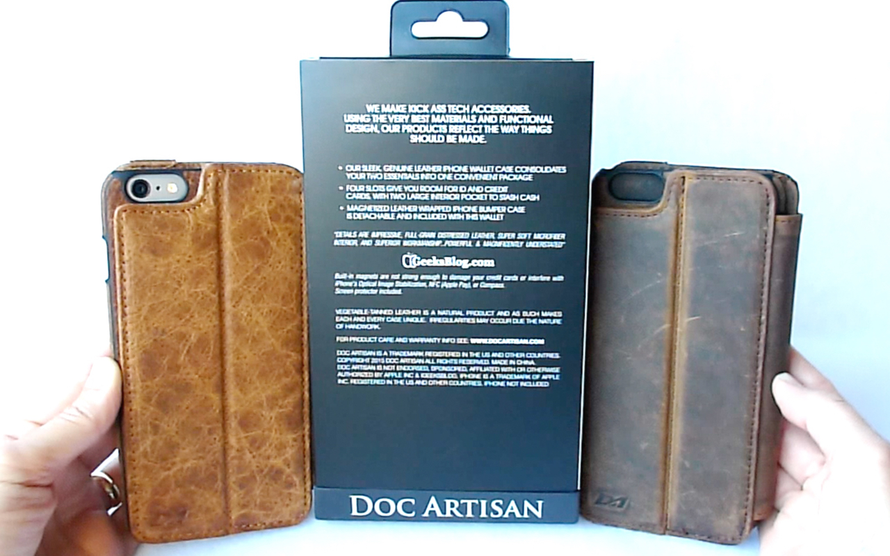 best service d57ab 14783 Doc Artisan Sport Wallet for iPhone 6/6 Plus: The Ultimate Leather ...