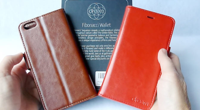 finest selection 417c5 ddf4e Fibonacci Wallet for iPhone 6 Plus: Great Functionality at a Bargain ...