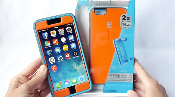 more photos 5b136 80edd Speck MightyShell and MightyShell with Faceplate for iPhone 6+: Hard ...
