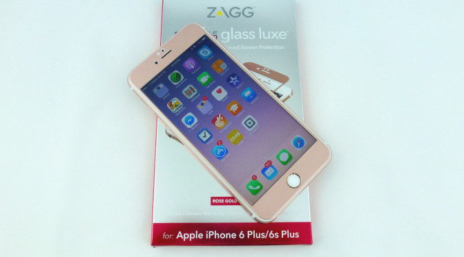 newest b0390 d6ae3 Zagg Glass Luxe: An Outstanding Edge to Edge Screen Protector for ...