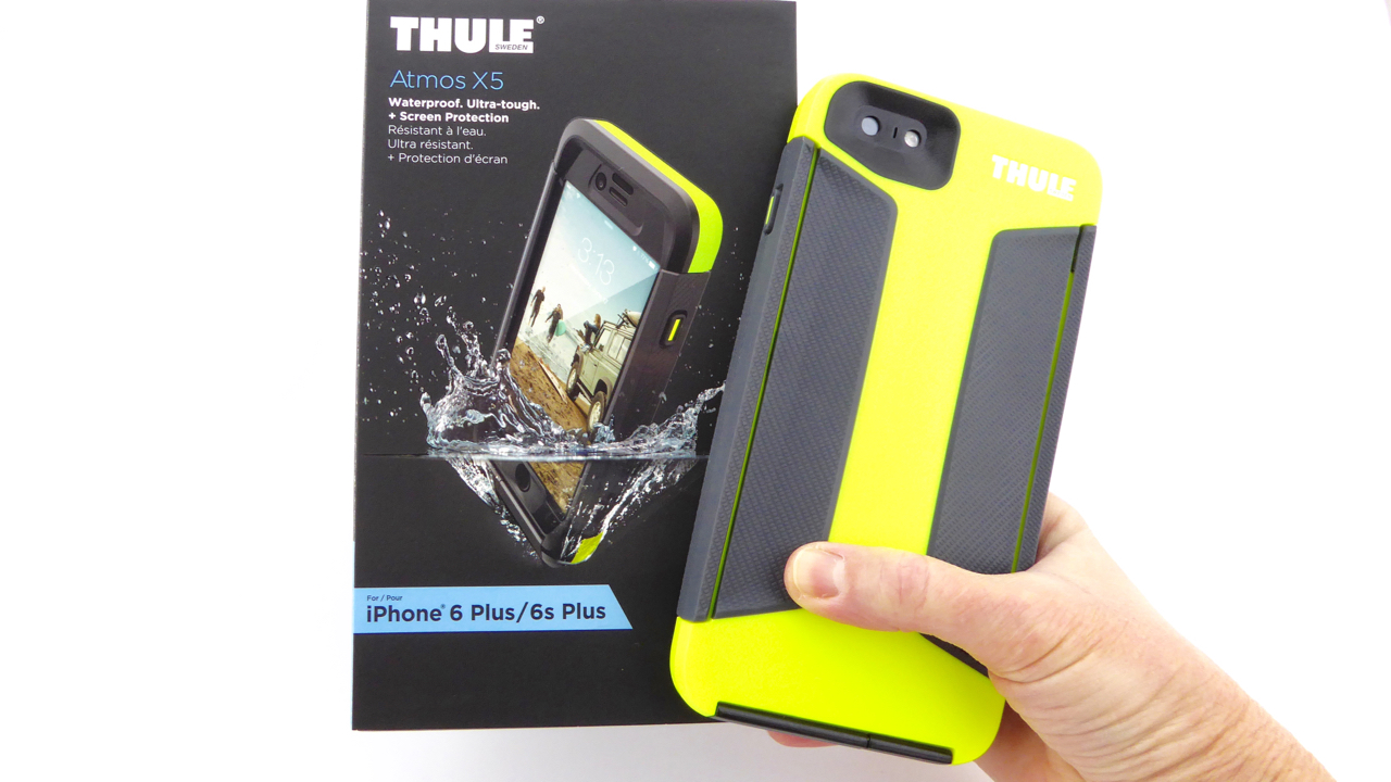 buy online a74e5 d2e36 Thule Atmos X5: A Tough Case that's Tough to Love - Tech Reviewer