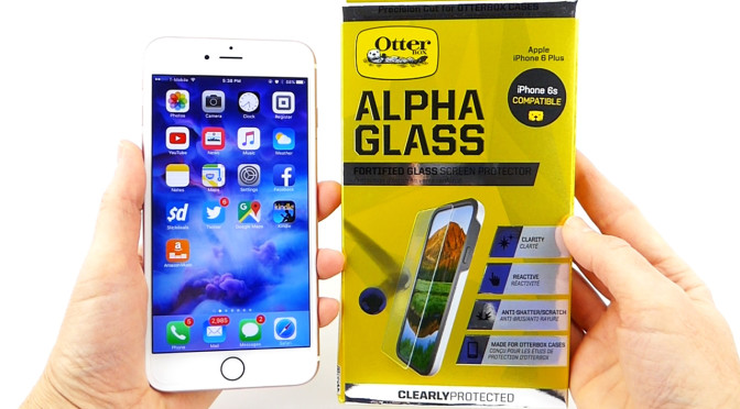 separation shoes b89ce d1f11 Otterbox Alpha Glass: A Great Case Friendly Screen Protector for ...