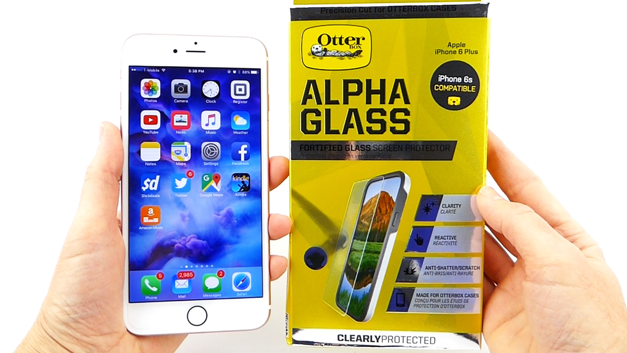 otterbox alpha glass screen protector for samsung galaxy s7 clear April 26