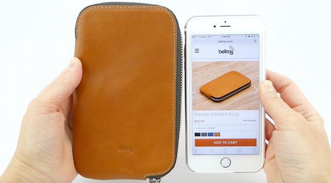 premium selection 60e69 cc183 Bellroy Phone Pocket Plus: A Luxurious Leather Zip Wallet That Fits ...