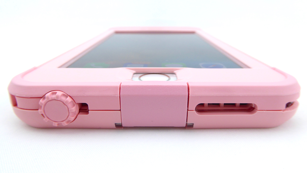 LifeProof NUUD in First Light Pink for iPhone 6s Plus- Front Bottom ...