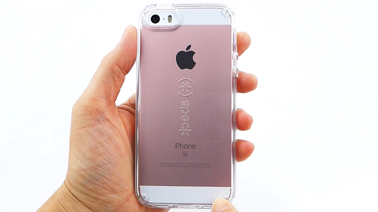finest selection ecc76 ff26e Speck CandyShell Clear for iPhone SE- Looking Good! - Tech Reviewer