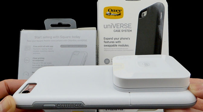 30ff6fa584651 OtterBox uniVERSE Case and Square Contactless + Chip Reader: Process Credit  Cards and Apple Pay on the Go!