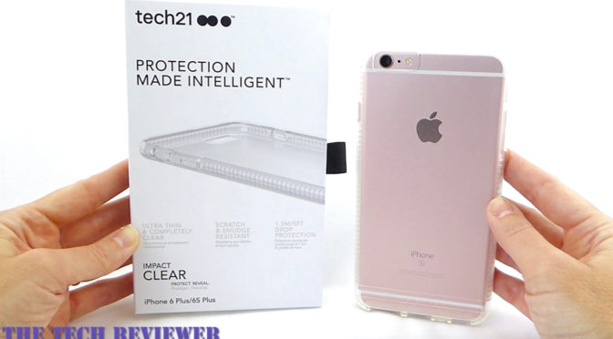 timeless design 62d03 9e8d6 Show off your iPhone 6s Plus with Tech21's Impact Clear with ...
