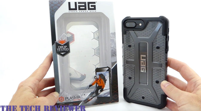 newest ed77e 4b3d9 Show off your Black iPhone 7 Plus with the UAG Plasma in Ice! - Tech ...