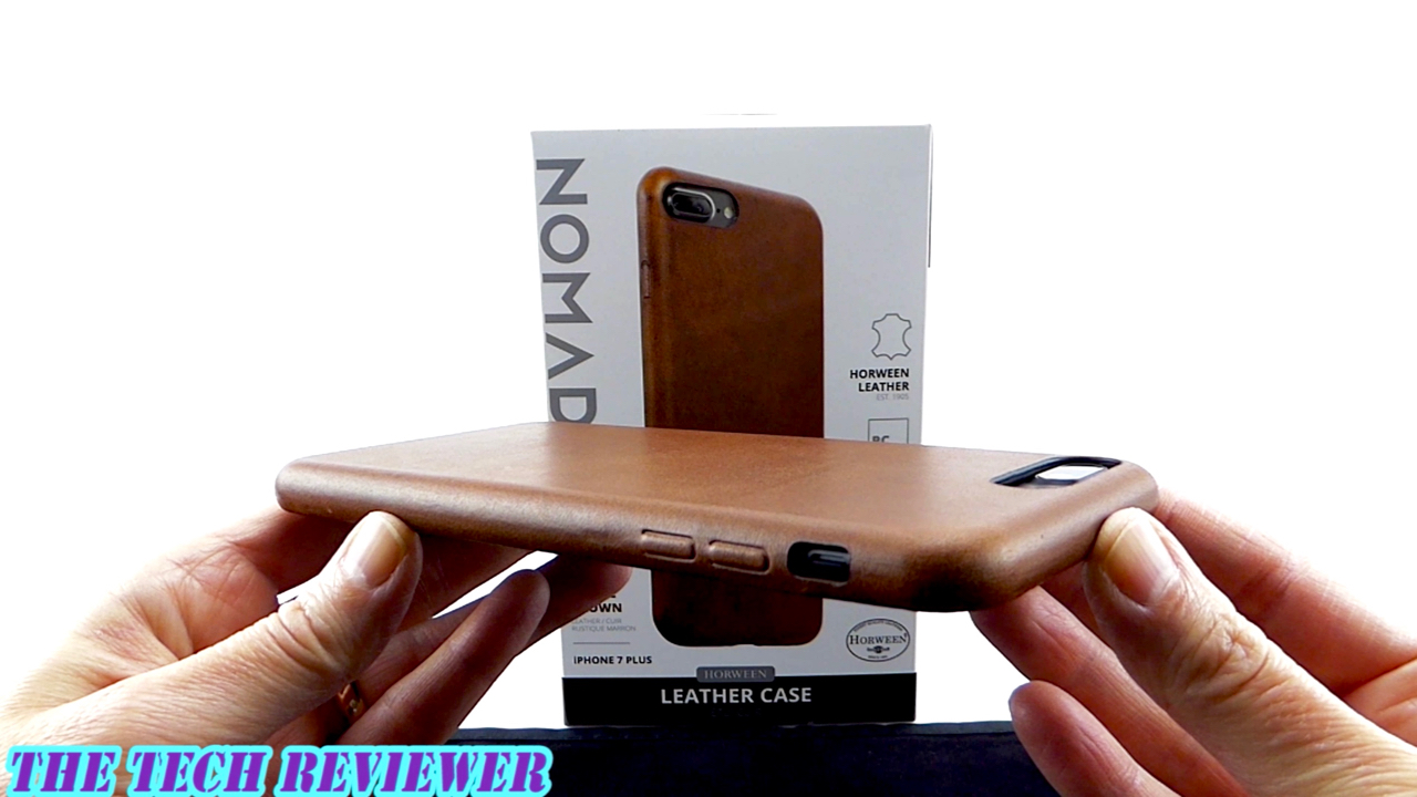 better than the apple leather case nomad leather case for iphone 7 plus tech reviewer. Black Bedroom Furniture Sets. Home Design Ideas