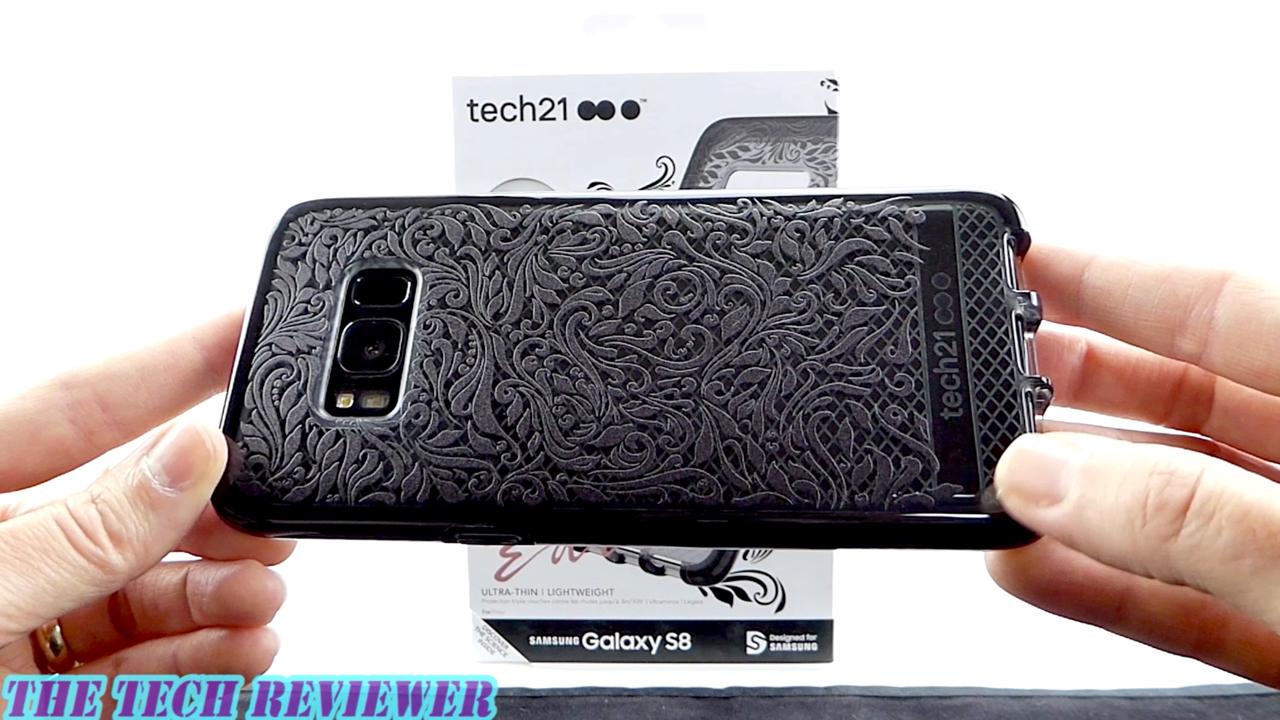 super cute 20a08 e6a0f Tech21 Evo Check Lace Edition For Galaxy S8: Stylish, Resists ...