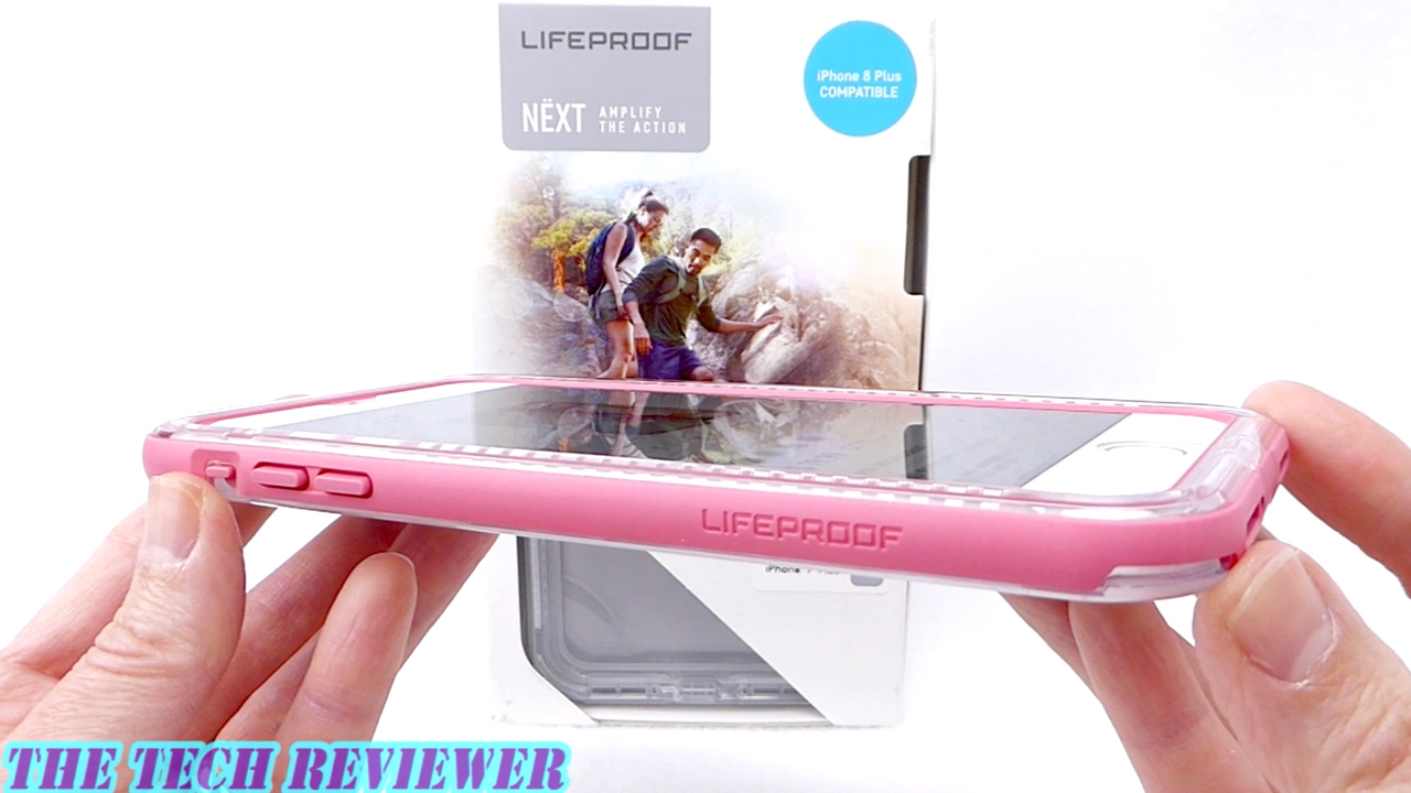 uk availability c5e6f c83a5 LifeProof NEXT for iPhone 8 Plus: Grippy, Drop Protective and ...